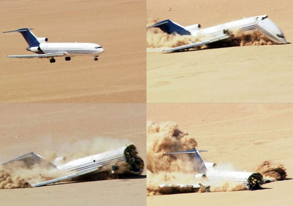Plane That Landed With A Bang The Independent
