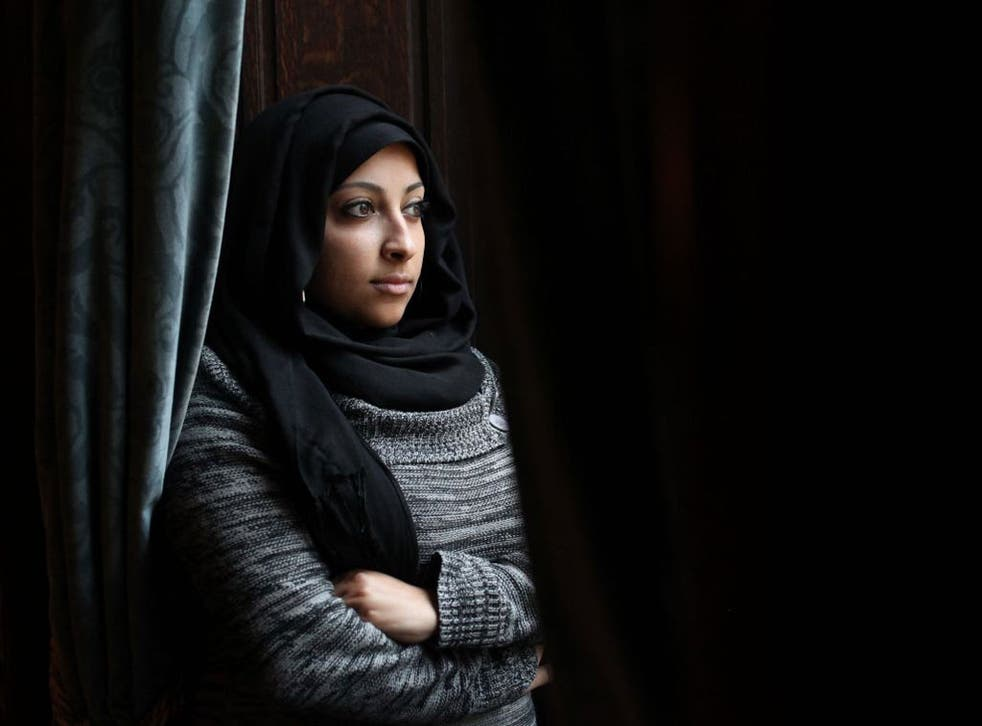 Maryam Al Khawaja, Bahraini human rights activist and daughter of prominent Bahraini human rights defender Abdulhadi al-Khawaja, pictured in London
