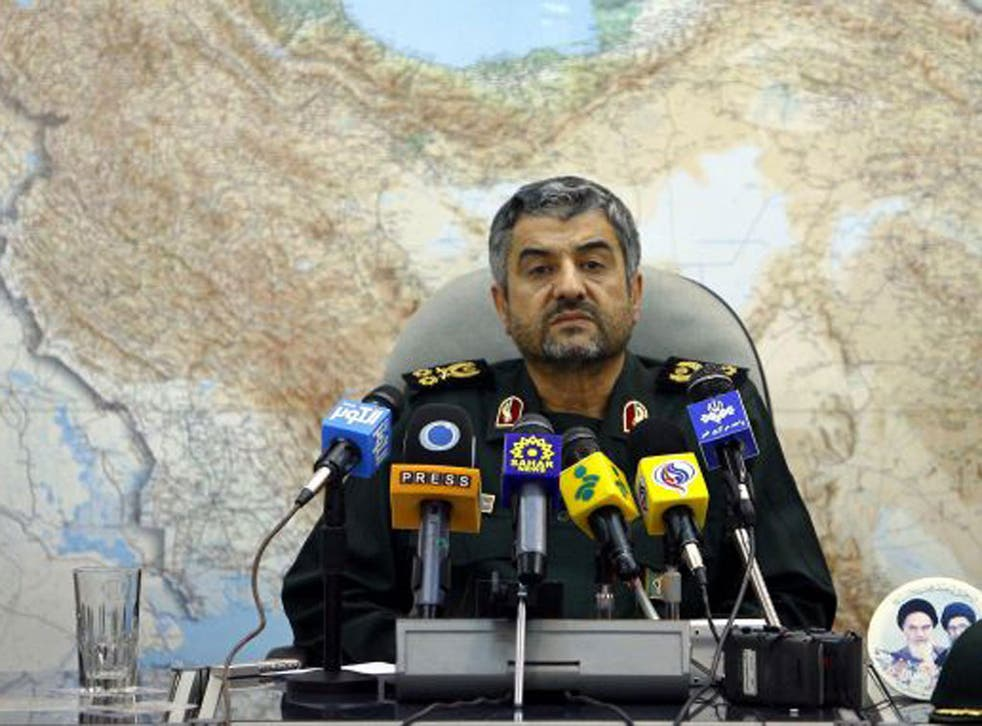 The plot was reportedly hatched by General Mohammad Ali Jafari