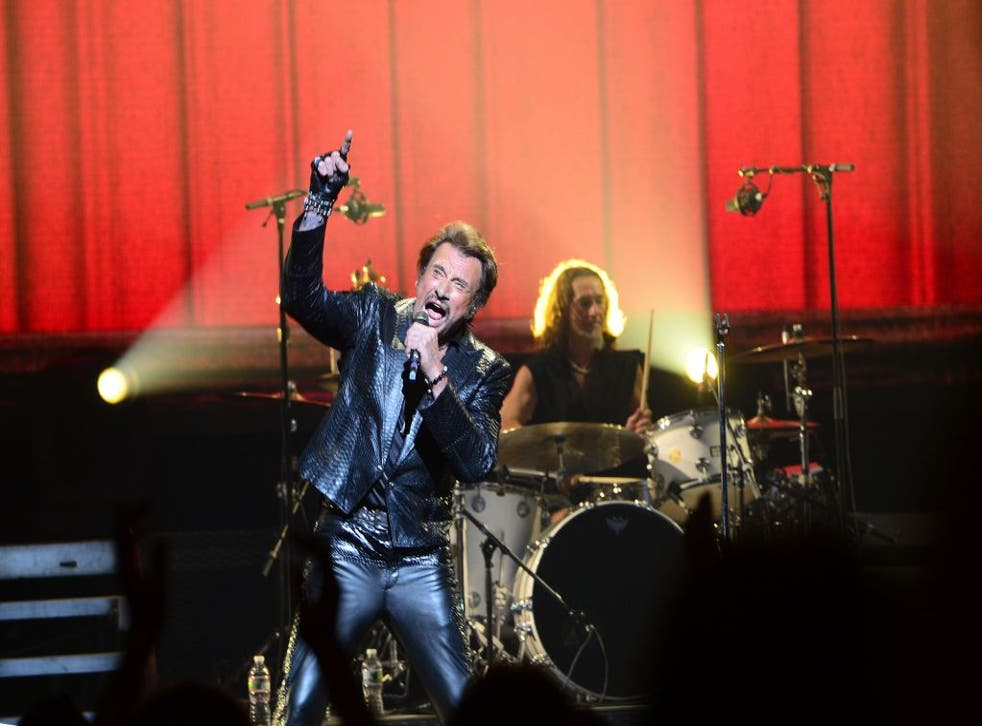 On his new tour, Johnny Hallyday is trying to translate his massive popularity at home to success abroad