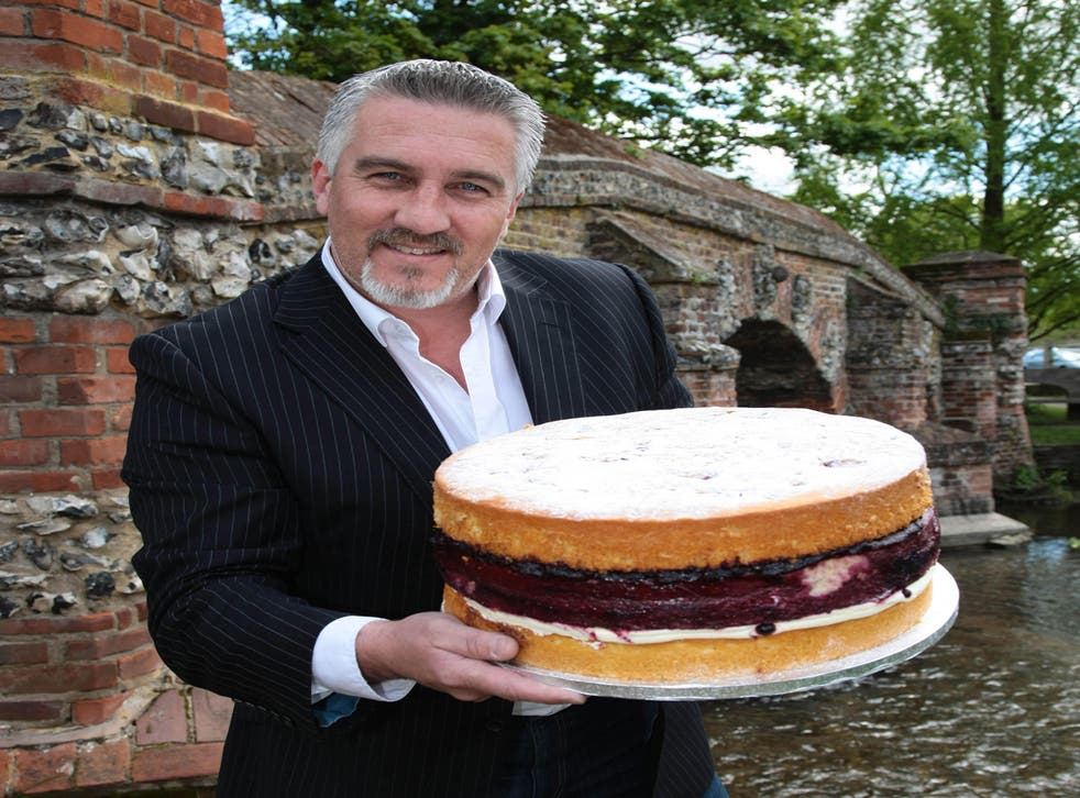 Judge Paul Hollywood from the BBC's Great British Bake Off