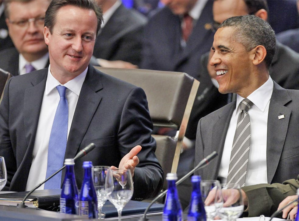 David Cameron and Barack Obama discussed the case when they met in Washington in May