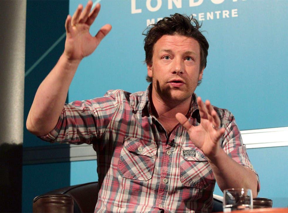 Celebrity chef and restaurateur, Jamie Oliver