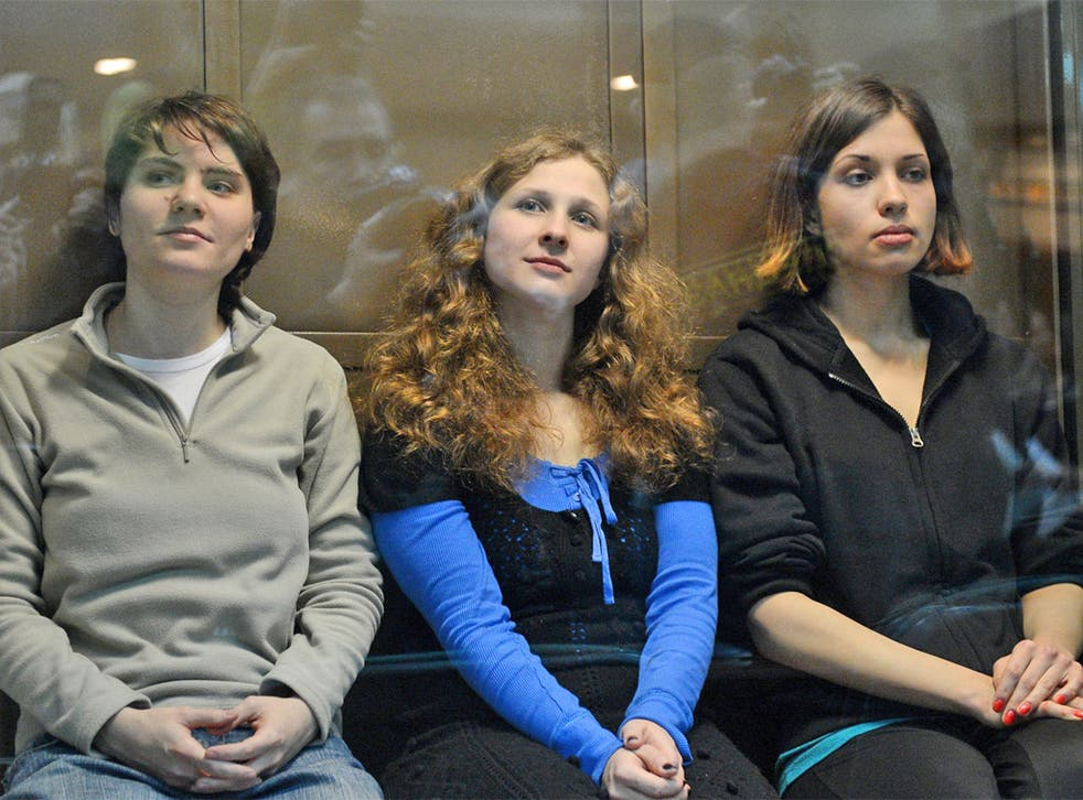 The members of Pussy Riot were jailed for their protest