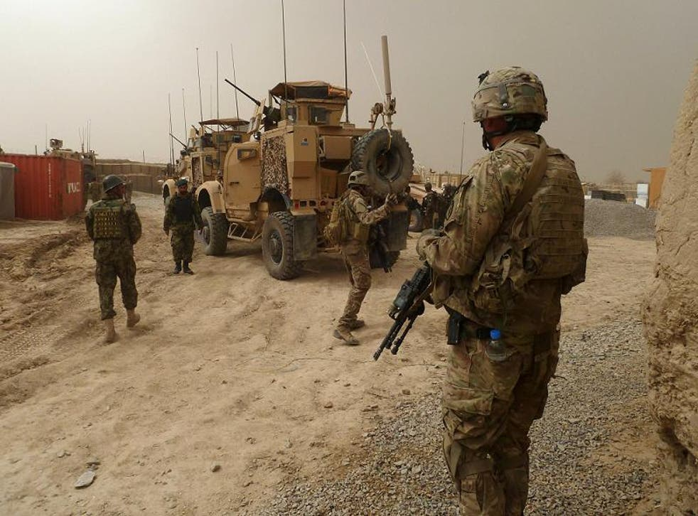 Troops in Afghanistan are searching for Mullah Fazlullah