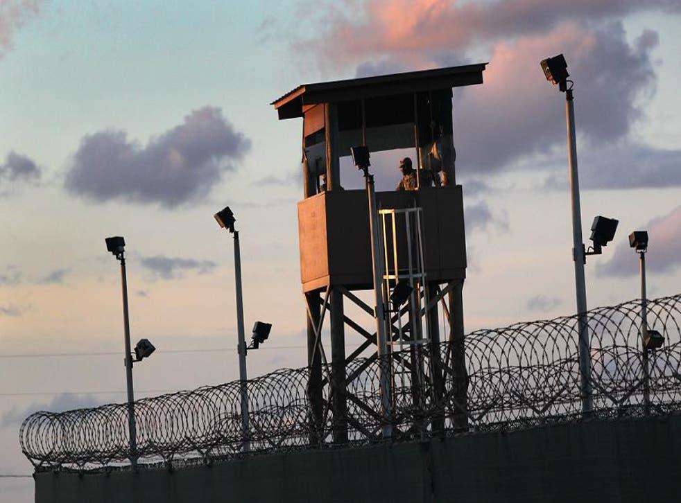 US military prison Guantanamo Bay in Cuba