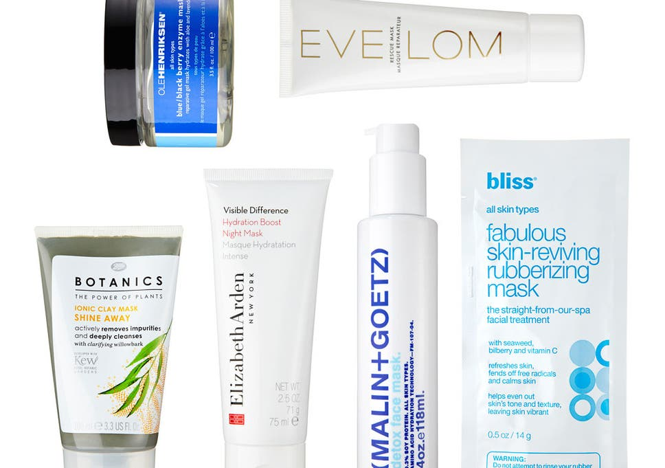Beauty: The best face masks | The Independent