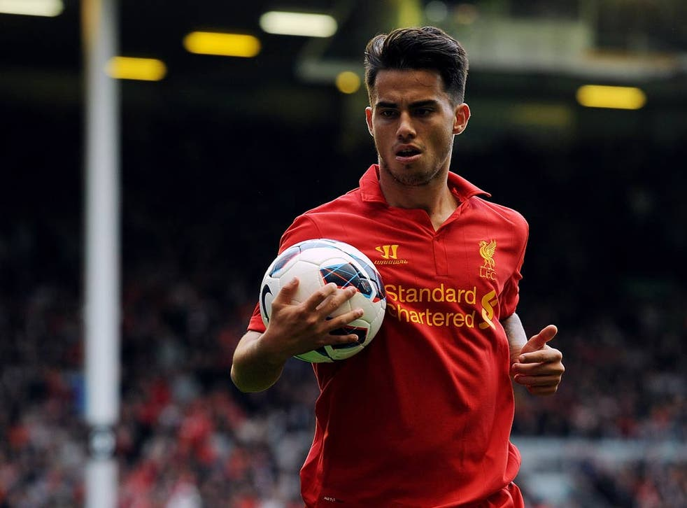 Liverpool youngster Suso