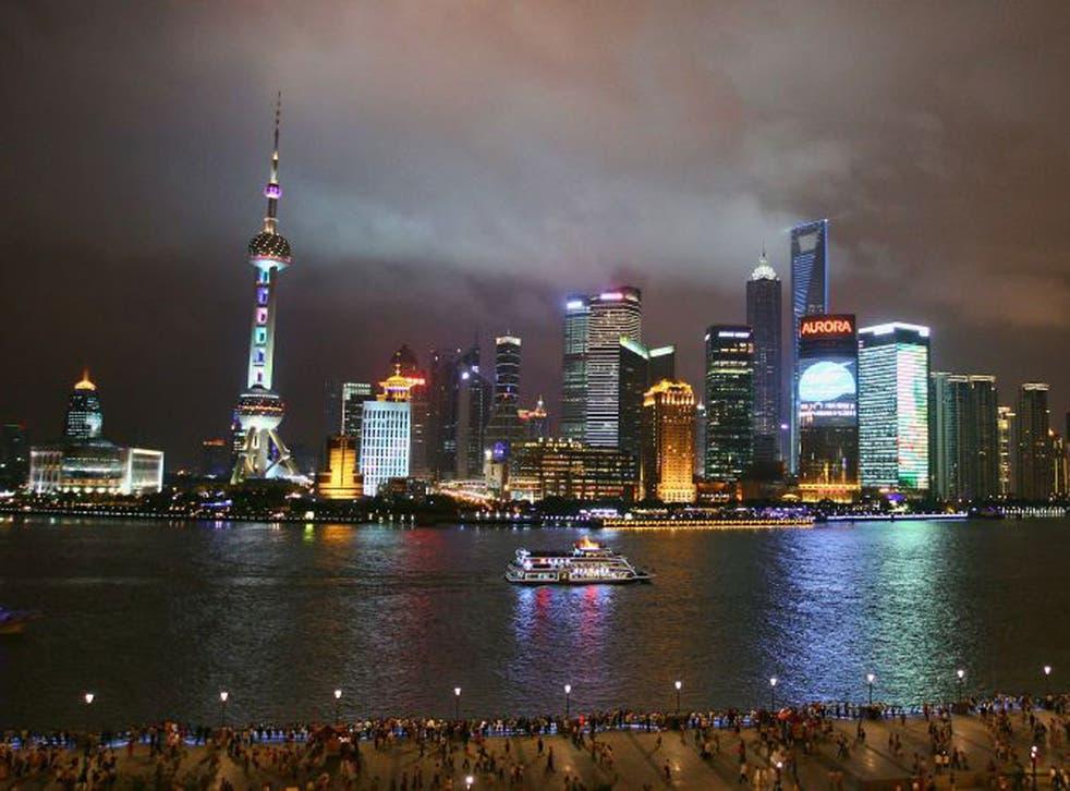 Shanghai's South Bund