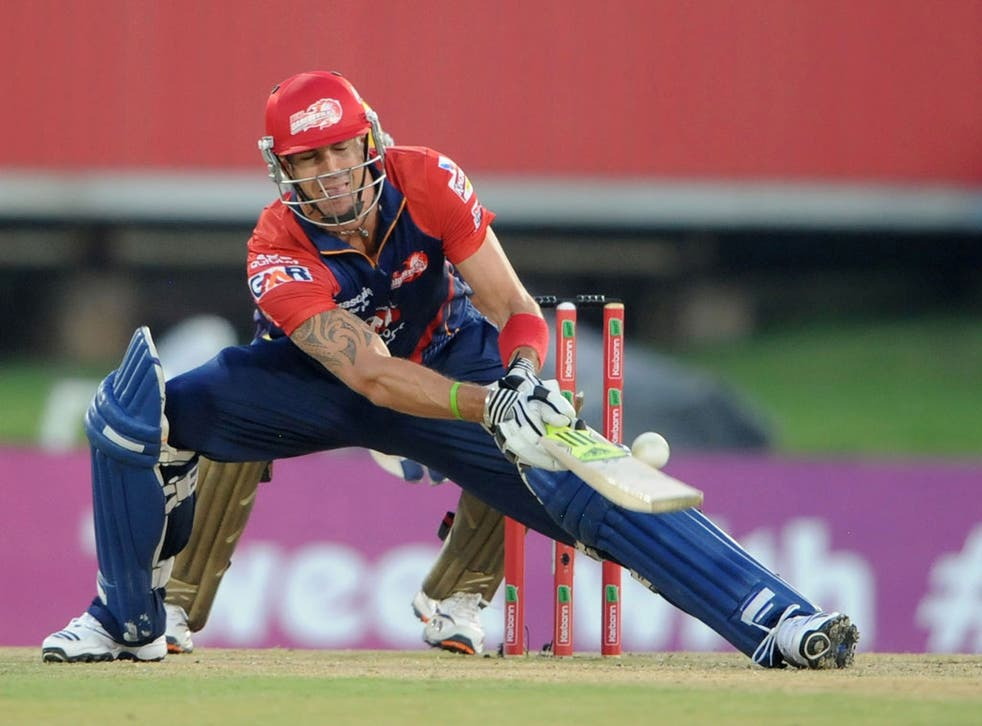 Kevin Pietersen is currently playing for the Delhi Daredevils in South Africa
