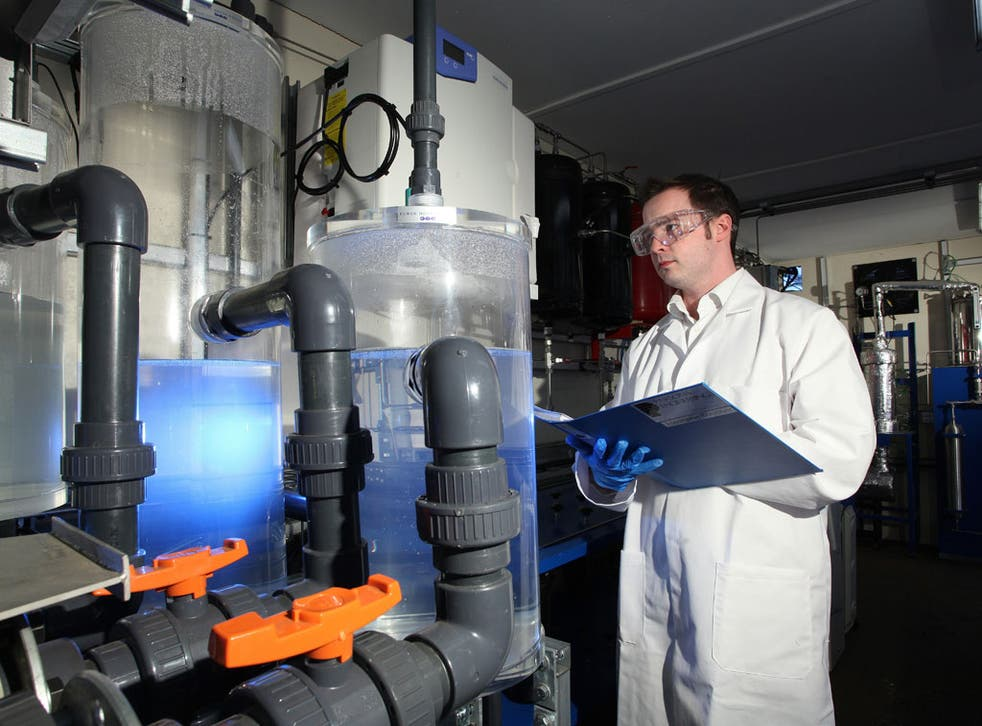 Tim Harrison in the only lab known to be working on the technology