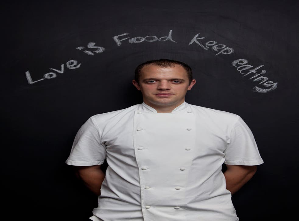 James Knappett is the chef and co-owner of Bubbledogs and fine-dining restaurant Kitchen Table