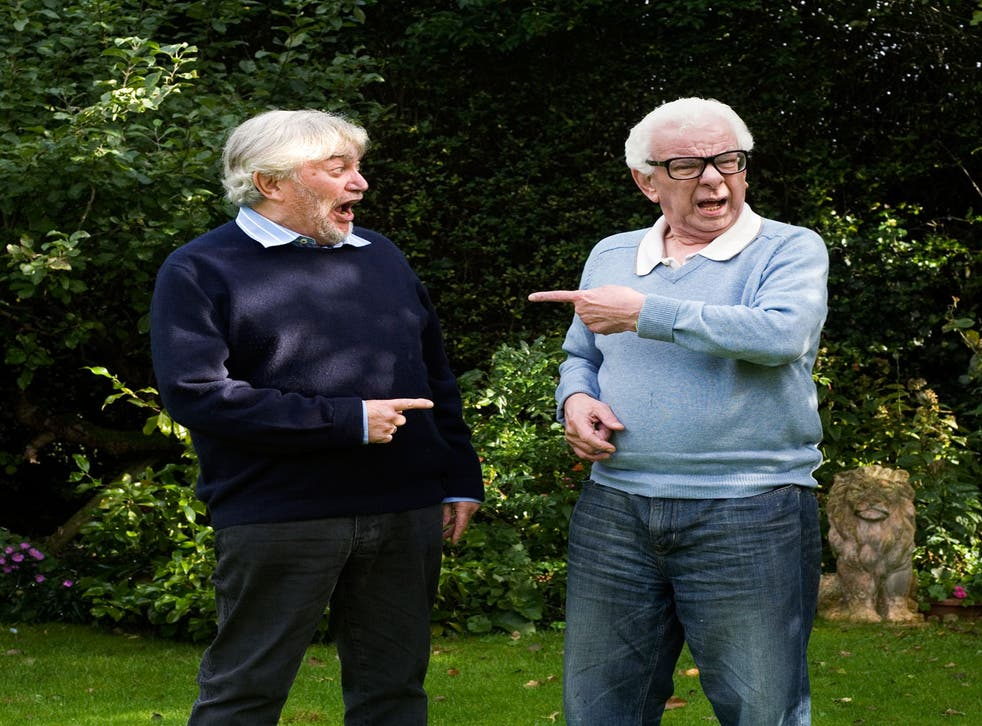 Norman (left in picture) says: 'What we most admire in one another is our longevity'