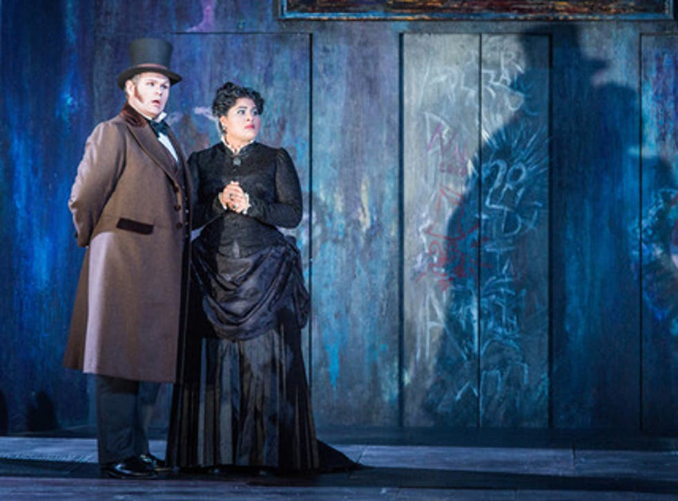 Christopher Turner as Don Ottavio and Meeta Raval as Donna Anna