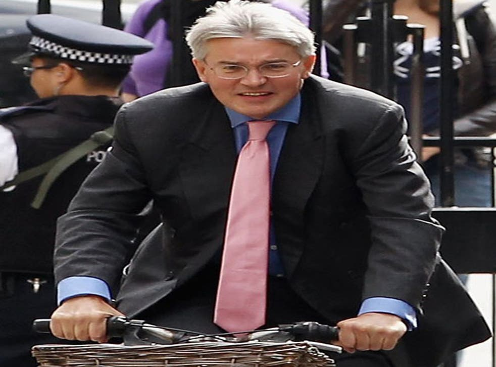 Gate-Gate? Andrew Mitchell is accused of calling a police officer a 'pleb' during a row about use of the Downing St gate
