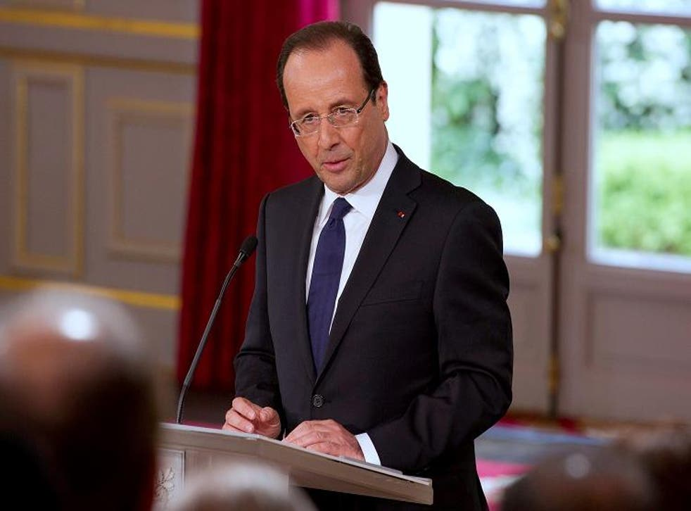 Francois Hollande: Energy plans have given rise to Big Brother criticisms