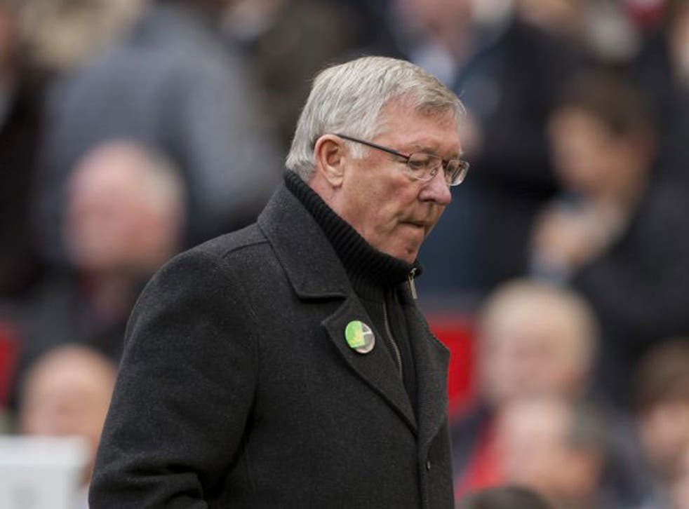 Sir Alex Ferguson: The United manager was visibly angry with Ferdinand after Saturday's game