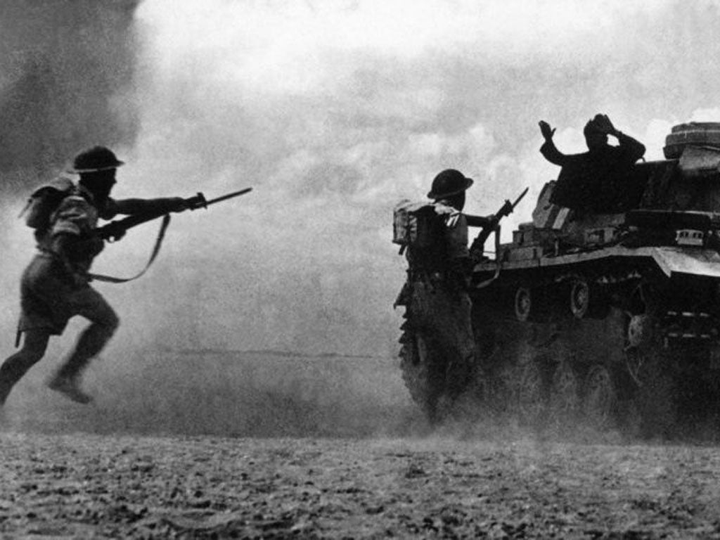 Woman in El Alamein
