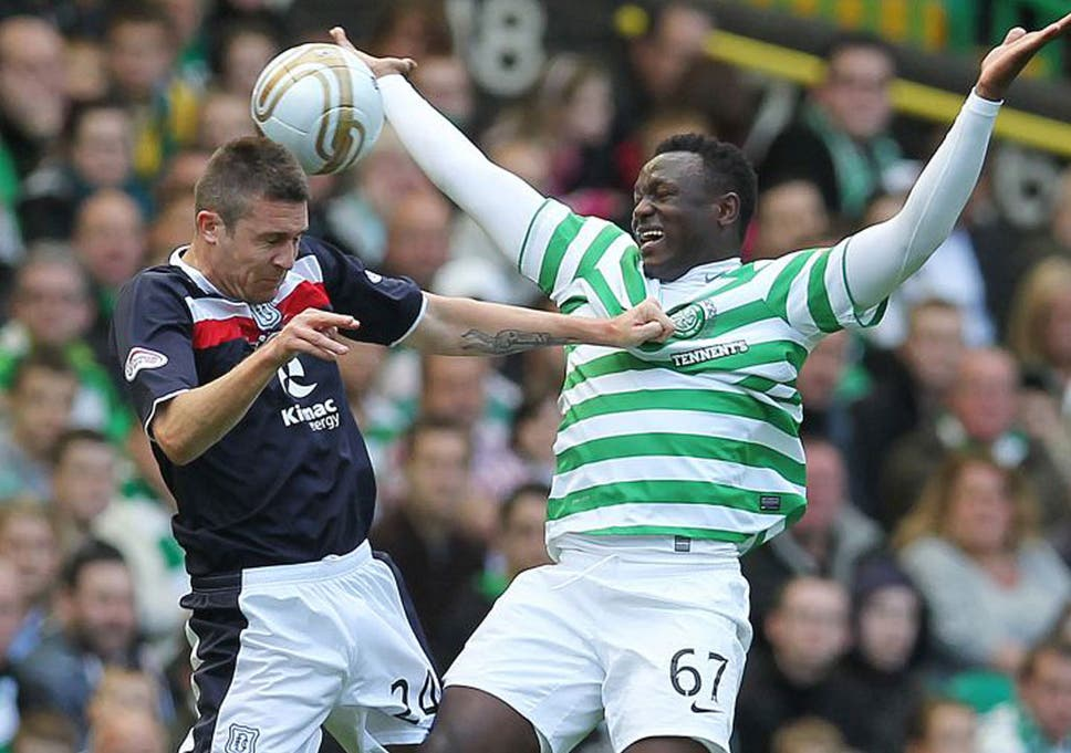 84f7c3720b0 Victor Wanyama (right) is Celtic s leading scorer in the SPL despite being a  defensive