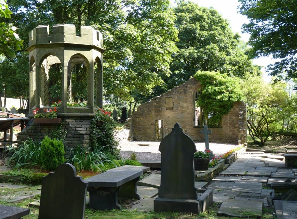 Brontë Bell Chapel before stone thieves 'desecrated' it