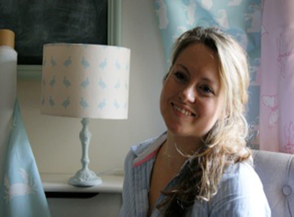 Ellie Harrington of Duck Egg Designs