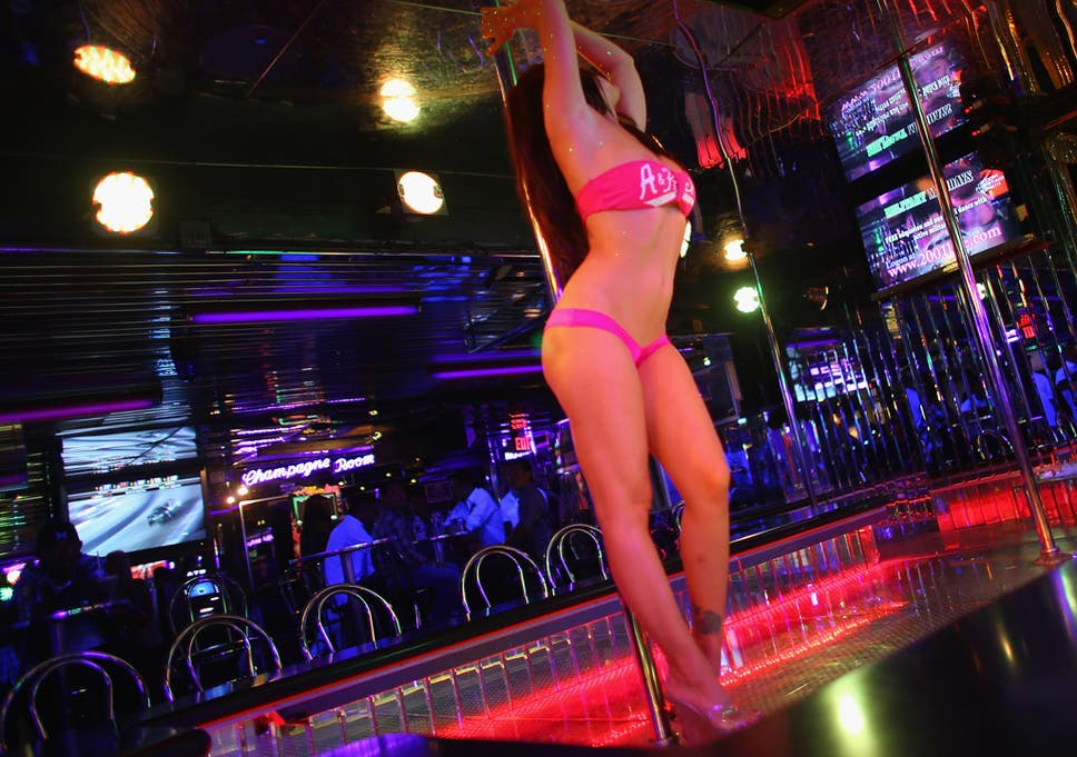 Photos of strip clubs