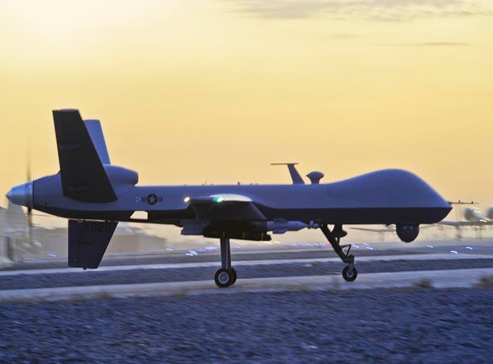 A US MQ-9 Reaper drone