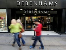 Debenhams set to shut putting 12,000 jobs at risk