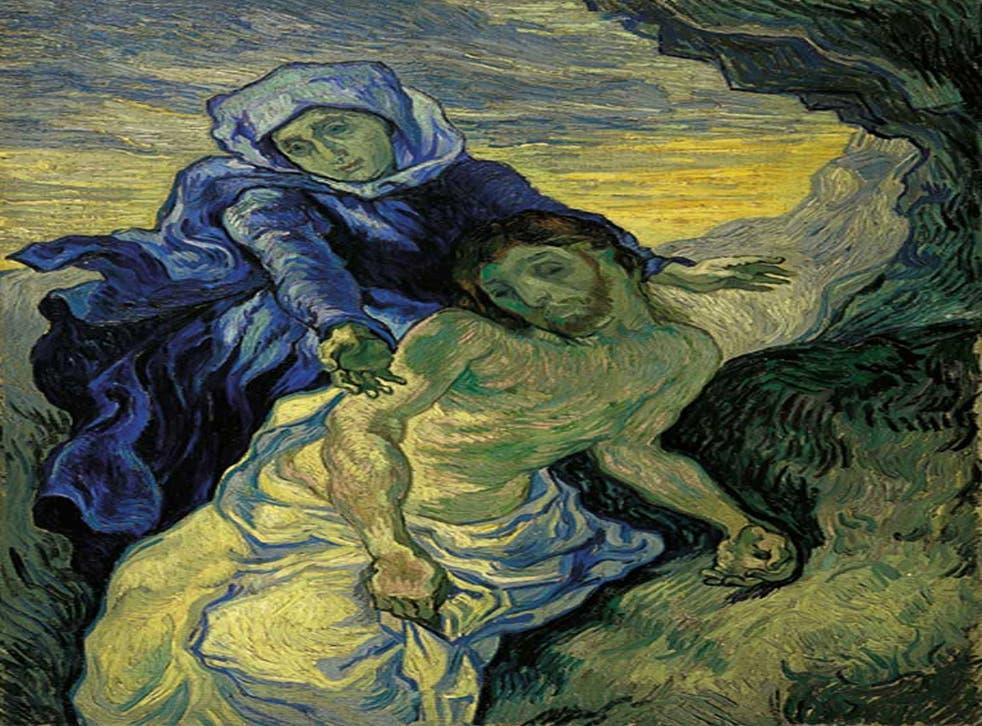 Stoicism in grief and suffering: Van Gogh's 'Pièta'