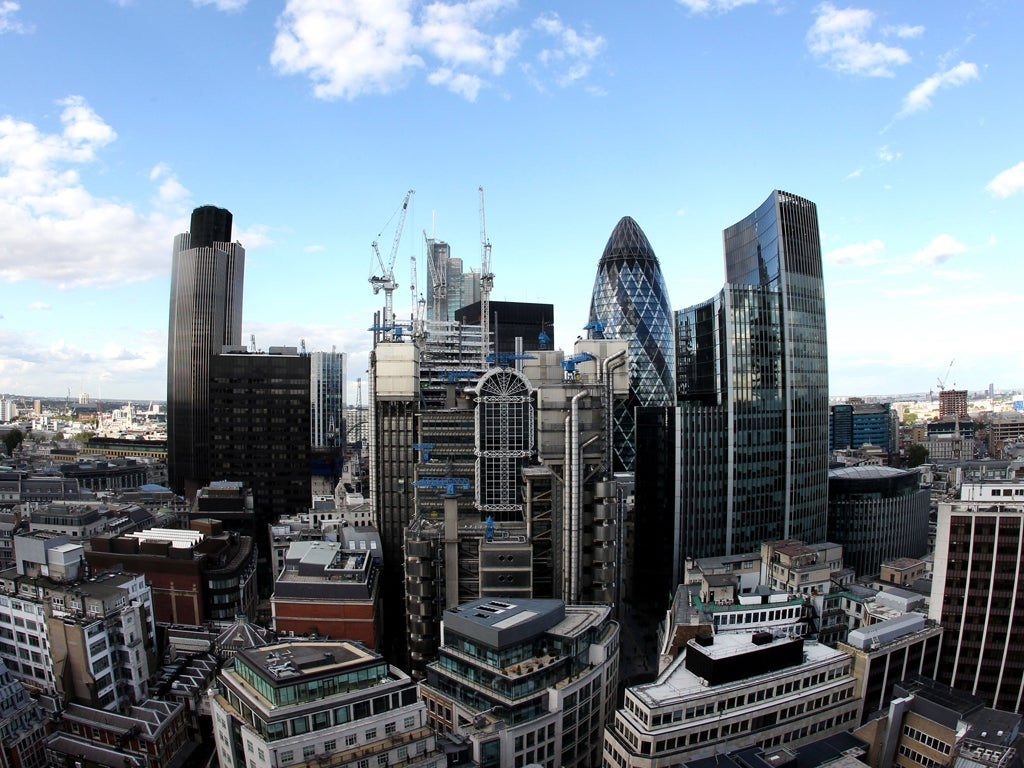Investment banks pledge to help city of london retain top for Is la a city