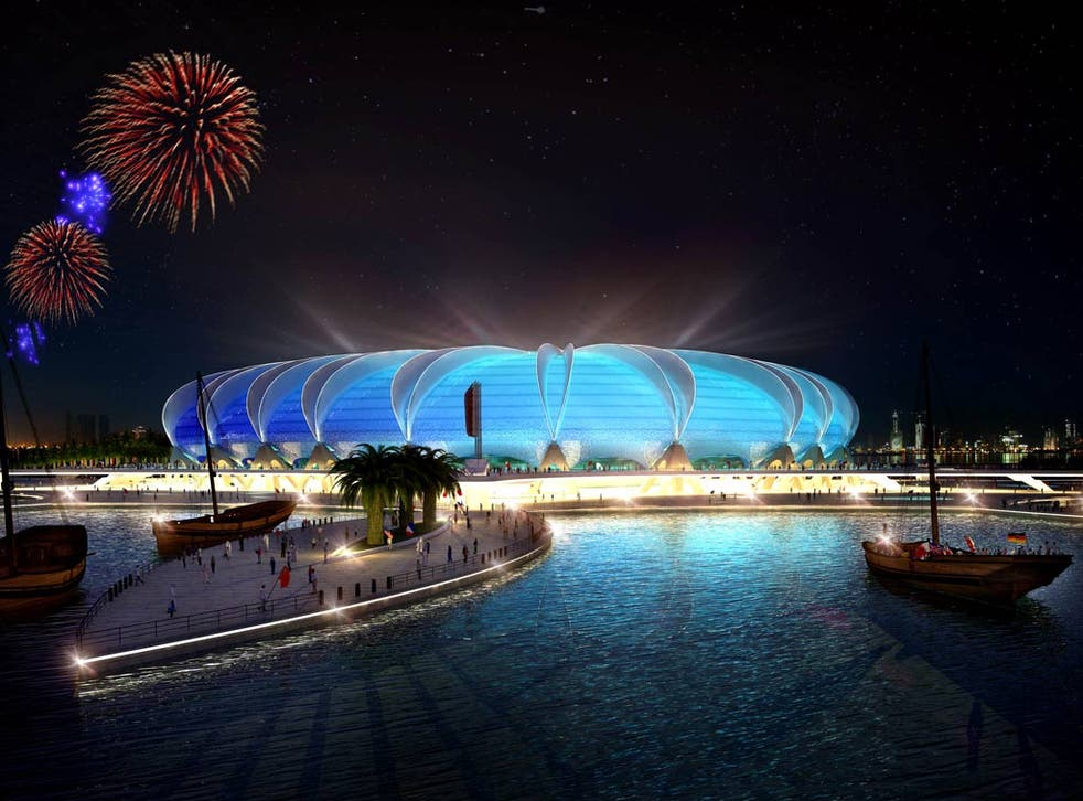 <b>2022 World Cup</b><br/> It's yet to happen, but when it does, surely the 2022 World Cup in Qatar will take some beating for a strange place to play the most prestigious sporting tournament in the world. Temperatures during the summer reach 50 degrees a