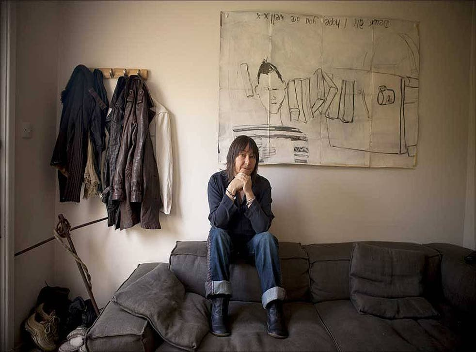 Author Ali Smith at her office in Cambridge