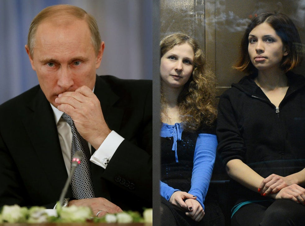 Vladimir Putin If Pussy Riot Had Not Broken The Law They Would Be At Home Doing Their Housework The Independent The Independent