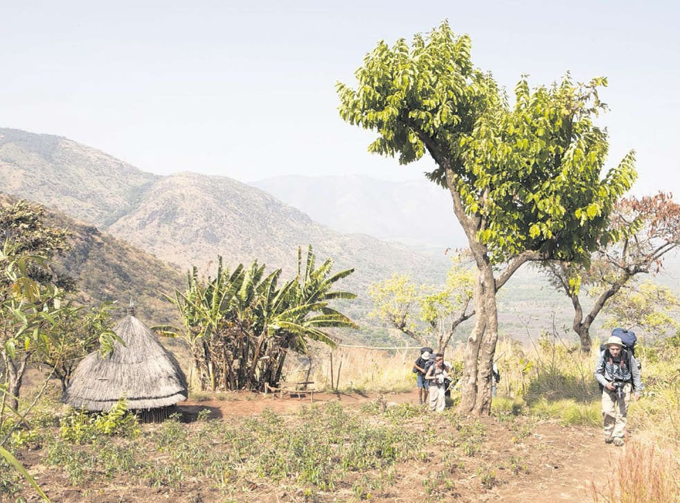 Climbing Mount Kinyet