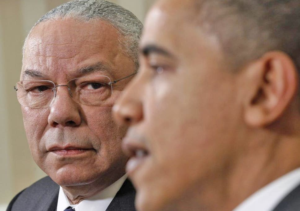 Colin Powell Ignited A Firestorm Among Republicans For Endorsing Barack Obama
