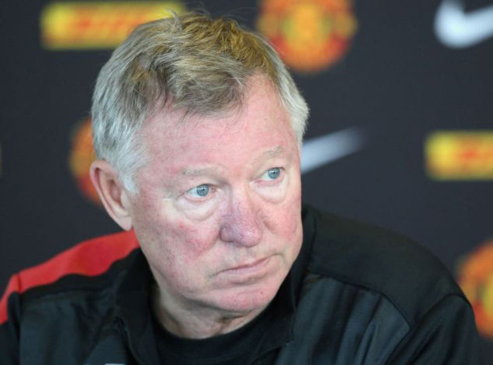 Sir Alex Ferguson got in an early reminder to the referee yesterday