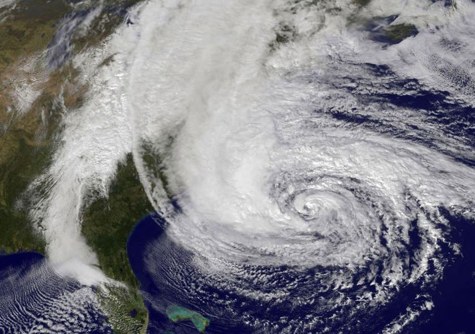 the worst storm in history hurricane sandy looms over the east