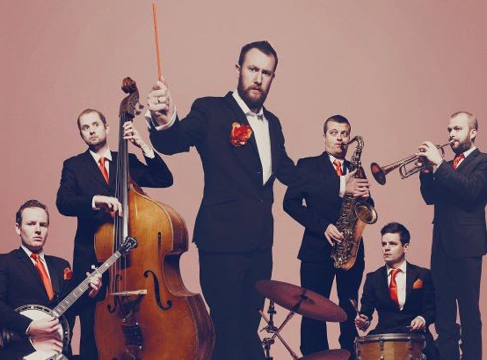 Sounds funny: Alex Horne and The Horne Section