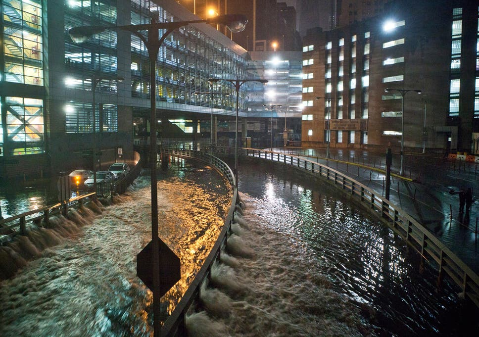 Hurricane Sandy Silences Us Websites Huffington Post Gawker And