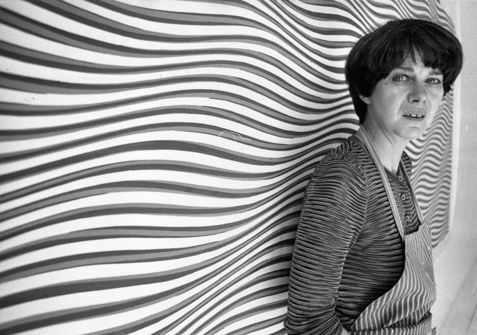 bridget riley becomes first woman artist to win prestigious dutch