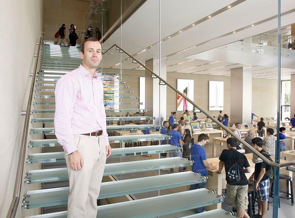 John Browett in July 2012 at Apple's new Barcelona store