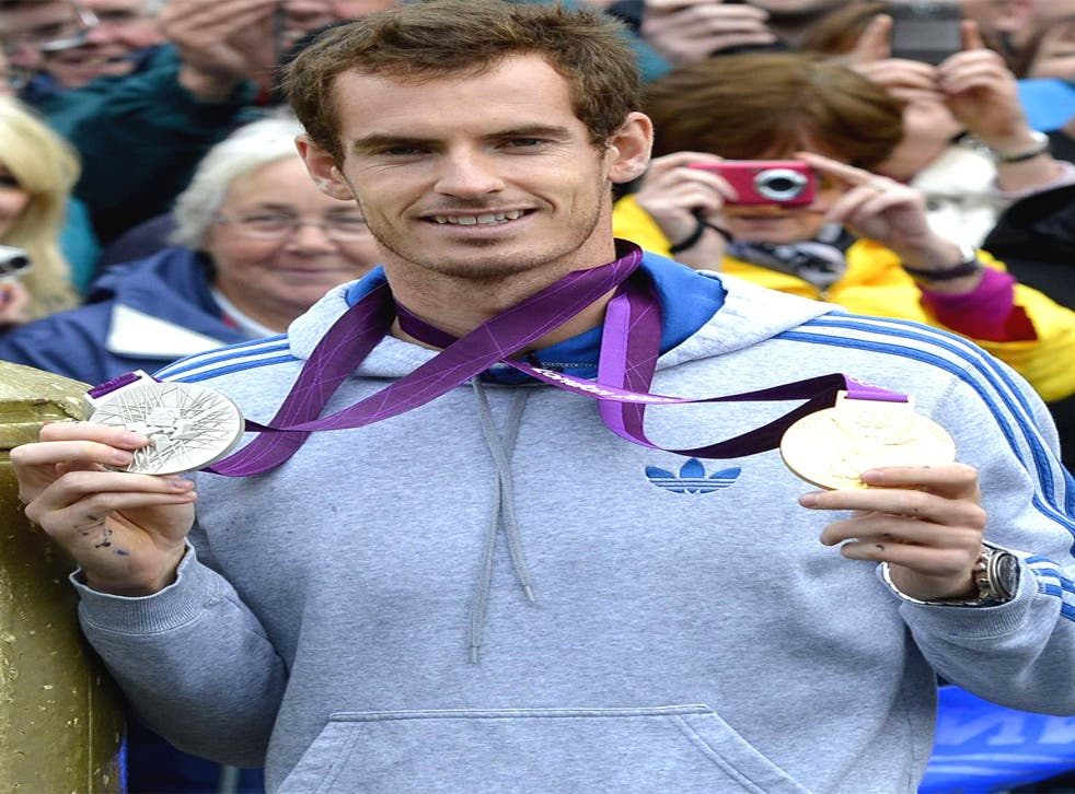 Olympic double medallist Andy Murray has a new fitness regime