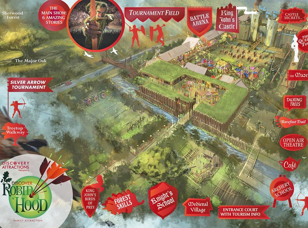 Discover Robin Hood hopes to welcome its first visitors in spring 2015