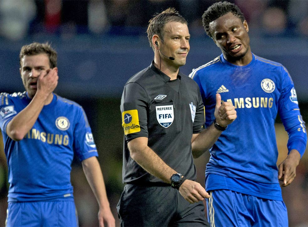 Mark Clattenburg is keen on a swift return to refereeing