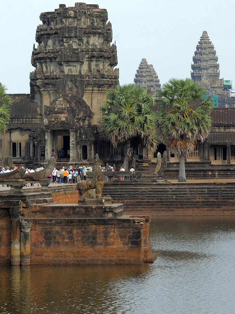 Travel Challenge: Christmas in Cambodia