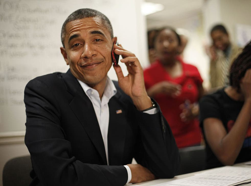 Barack Obama, local campaign office, Orlando, October 28th 2012