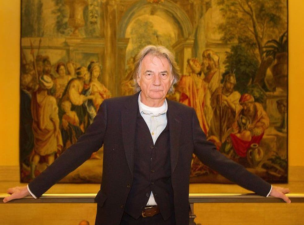Clothing designer Sir Paul Smith at the Clothworkers Hall in London