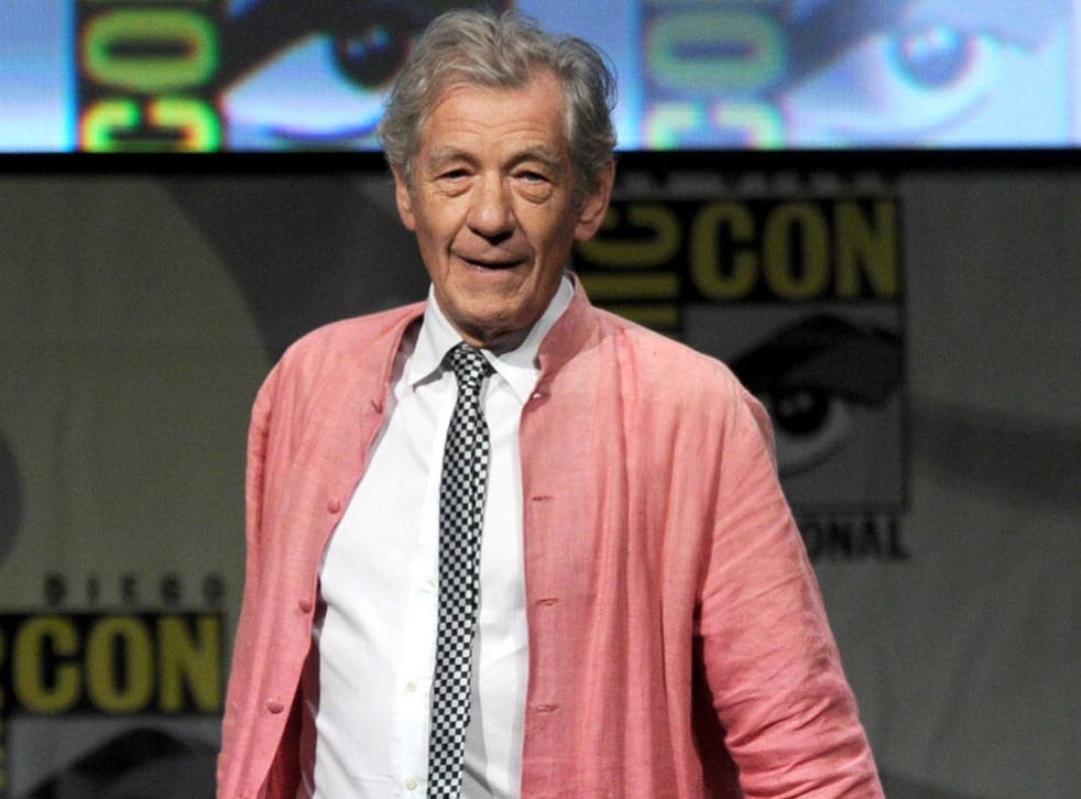 <b>Sir Ian McKellen - Actor</b> <p>Sir Ian says being gay made him a good actor because he became so practised in pretending to be someone else. Known to Lord of The Rings fans as Gandalf, he has been going into schools to talk to pupils and instructs the