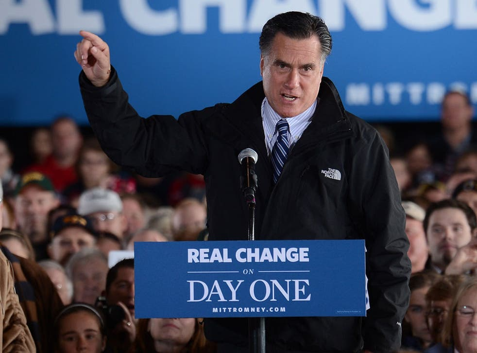 Romney has played a textbook campaign