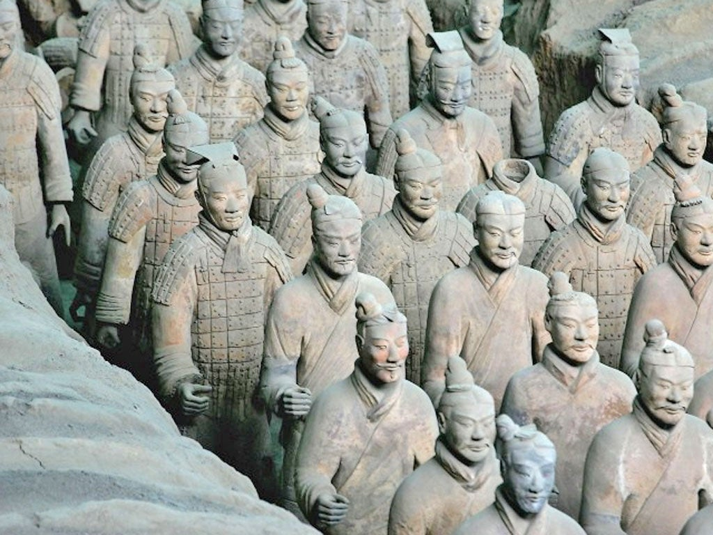 Ancient Greeks may have built China's famous Terracotta Army – 1,500 years before Marco Polo